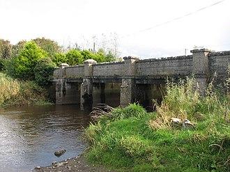 Owenmore River (County Sligo) - Owenmore River crossing at Carrowreagh Bridge