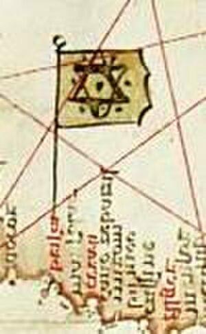 Kingdom of Ait Abbas - Map of Béjaia in the XVIth century.