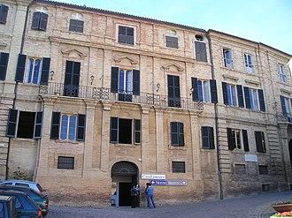 Recanati - Leopardi's palace, visitable today