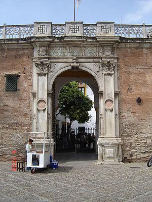 Casa de Pilatos - Main gate.