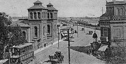 Ferrocarril buenos aires al puerto de la ensenada Casa amarilla santiago