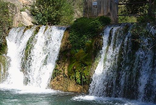 Cascades de la presa de les fonts de l'Algar
