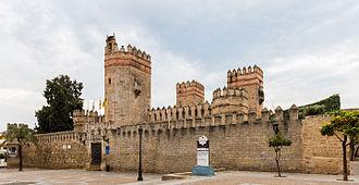 Castle of San Marcos (El Puerto de Santa María) - Front view of Castle of San Marcos