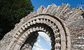Castledermot Church of Saint James Romanesque Portal Arch 2013 09 06.jpg