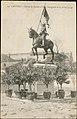 Castres, Statue de jeanne d'Arc, (Inaugurée le 13 avril 1914) CP 5500 PR.jpg
