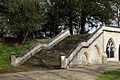 Catacomb columbarium steps - City of London Cemetery, Newham, London England - warm render.jpg