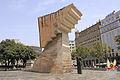 Catalunya a Francesc Macià (de Josep Maria Subirachs) (1991).jpg