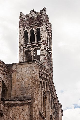 La Seu d'Urgell Cathedral - Bell tower of the Cathedral