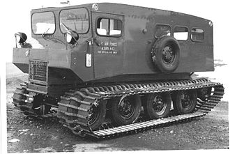 Snow coach - 1963 10 passenger Thiokol 601 operated by the USAF