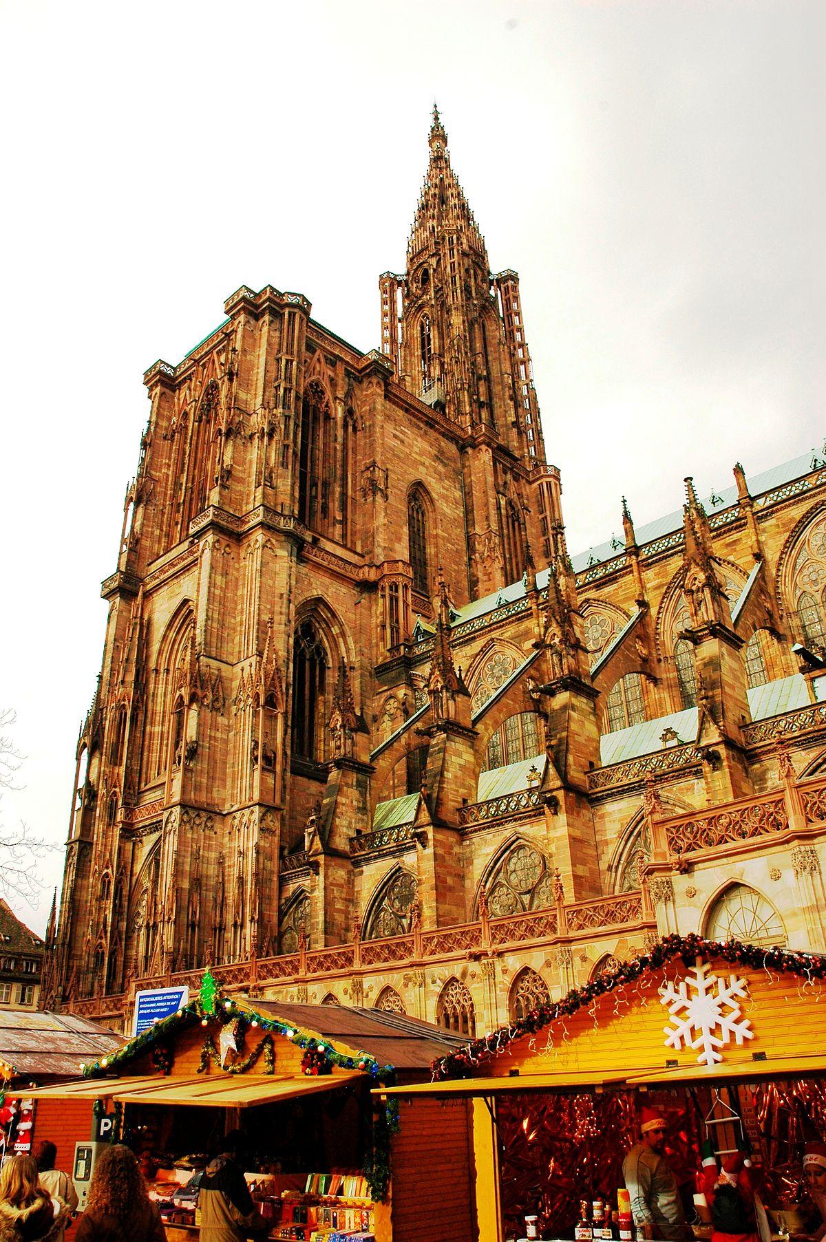 German Christmas Market >> Strasbourg Cathedral bombing plot - Wikipedia