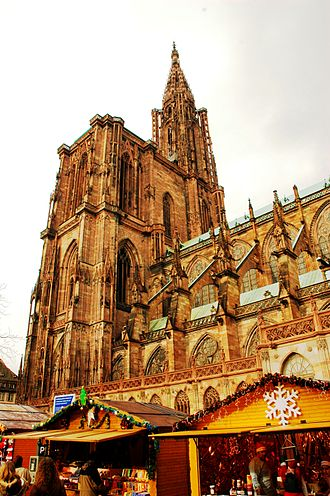 Strasbourg Cathedral bombing plot - Strasbourg Cathedral Christmas market (2006)