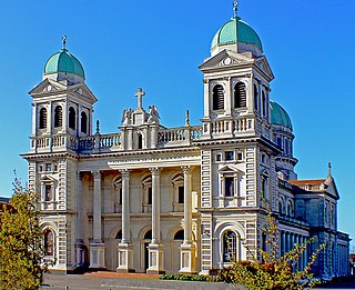 Cathedral of the Blessed Sacrament, Christchurch Church in Christchurch Central City, New Zealand