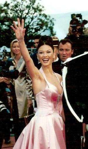 Catherine Zeta-Jones at the Cannes film festival