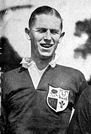 Carl Aarvold - Aarvold during a British and Irish Lions tour on Argentina, 1927.