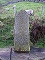 Celtic style stone , Angram. - geograph.org.uk - 178574.jpg