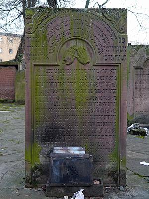 Cemetery-Battonnstrasse-GS-0081-0478-R. Natan ben Schimon Adler KaZ (17.09.1800).jpg