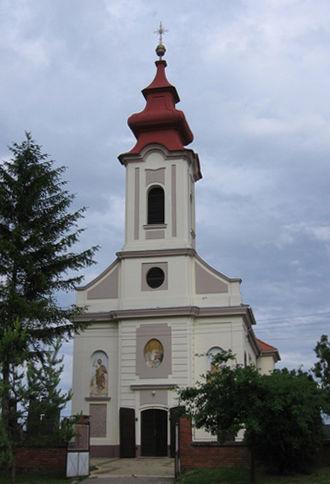 Čenej - Orthodox Church in Čenej