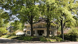 Central Gardens, Memphis - A home in Memphis' Central Gardens historic neighborhood.