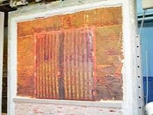 Double fire door immediately after 3 hour fire test inside a 4-hour rated Durasteel wall. & Fire door - Wikipedia
