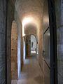 Château de Falaise couloir entre donjon et tour Talbot.JPG