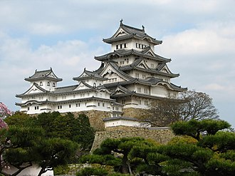 You Only Live Twice (film) - The Himeji Castle, location of the ninjas' training.