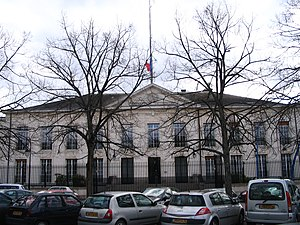 Indre - Prefecture building of the Indre department, in Châteauroux