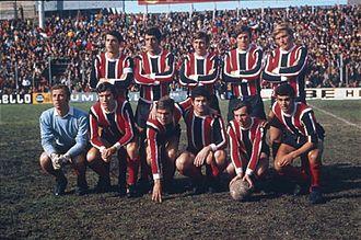 Chacarita Juniors - The 1969 Torneo Metropolitano champions.