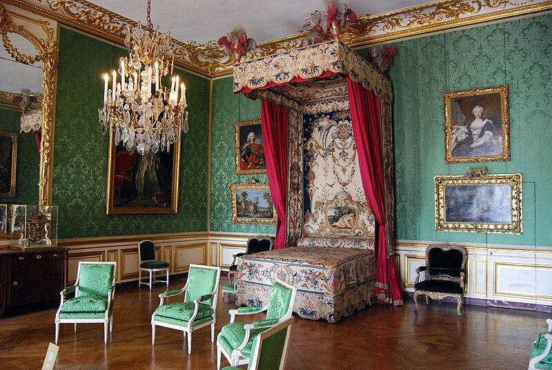 Fichier:Chambre du Dauphin, Château de Versailles - 01.jpg