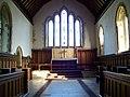 Chancel, St Mary and St Bartholomew, Cranborne - geograph.org.uk - 695369.jpg