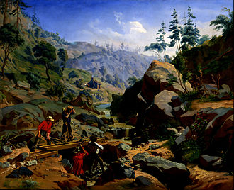 Charles Christian Nahl -  Miners in the Sierras