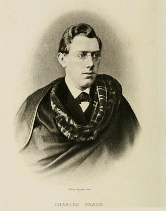 Stichometry - Charles Graux (1852--1882): French classicist and palaeographer. His discovery of the standard line launched the rigorous, modern study of stichometry.