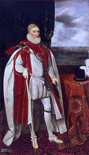 Charles Howard (1536-1624), by Daniel Mytens