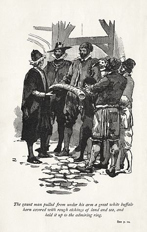 Westward Ho! (novel) - Image: Charles Kingley 1899 Westward Ho! frontispiece