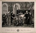 Charles VIII visiting the deathbed of Gian Galazzo Sforza at Wellcome V0006946.jpg