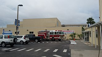 Charlotte County, Florida - Image: Charlotte County Fire & EMS at Hospital
