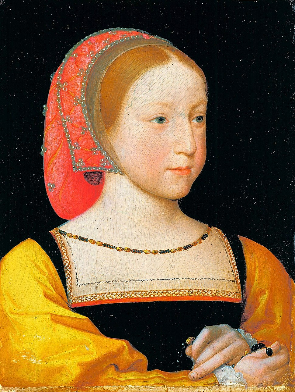 Charlotte of France by Jean Clouet