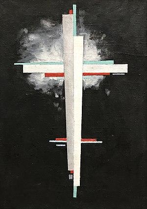 """Ilya Chashnik - """"Suprematism"""", 1923"""
