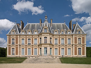 Park of Sceaux - The castle, rebuilt in the 19...