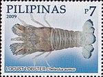 Chelarctus aureus 2009 stamp of the Philippines.jpg
