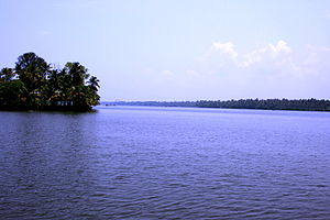 Cherai Beach - Image: Cherai Lagoon 2