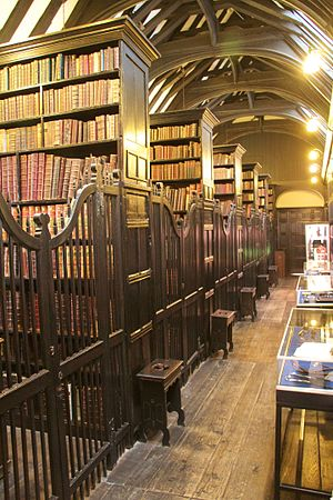 Chetham's Library - An aisle inside the library