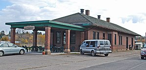 Chicago and Milwaukee RR Depot Iron River MI.jpg