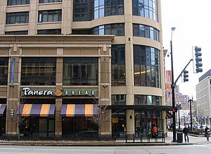 Panera Bread - Panera Bread in Chicago's South Loop in 2006.