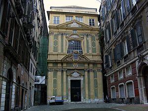 Santissimo Nome di Maria e degli Angeli Custodi, Genoa - Church
