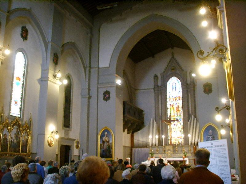Immagine:Chiesa di Nostra Signora degli Angeli interno.JPG