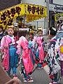 Children at the Nakanojo Festival by nyaa birdies perch in Gunma.jpg