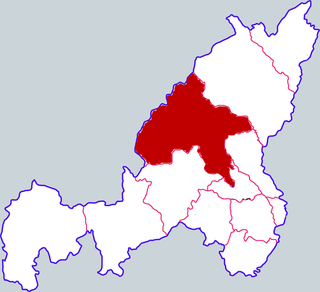 Yuyang District District in Shaanxi, Peoples Republic of China
