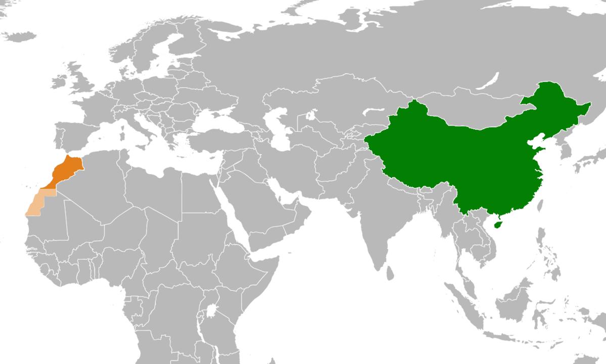 China Ndash Morocco Relations Wikipedia