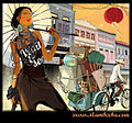 Chinatown MRT - Illustration inspired by Pagoda Street in Singapore.jpg
