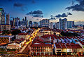 Chinatown at Sunset , Singapore 2013 (8437779104).jpg